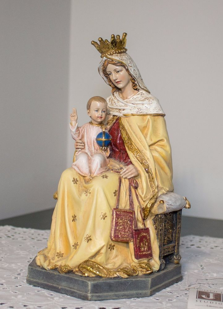 2006 Roman Inc. MARY JESUS mother child Madonna baby resin FIGURE Josephs Studio