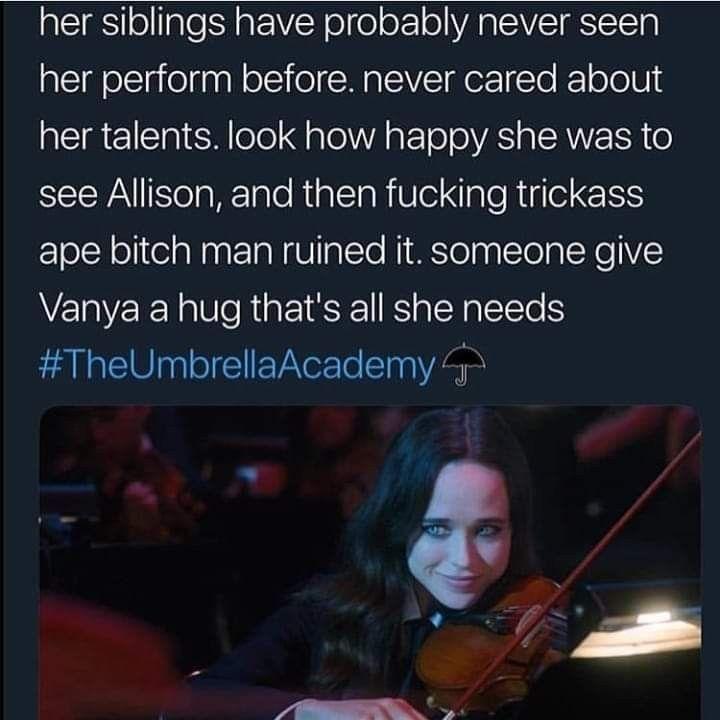 Umbrella Academy Memes Vanya Umbrella Academy Memes Funny Umbrella Umbrella Under My Umbrella