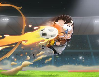 """Check out new work on my @Behance portfolio: """"Kopanito All- Stars Soccer"""" http://be.net/gallery/36267927/Kopanito-All-Stars-Soccer"""