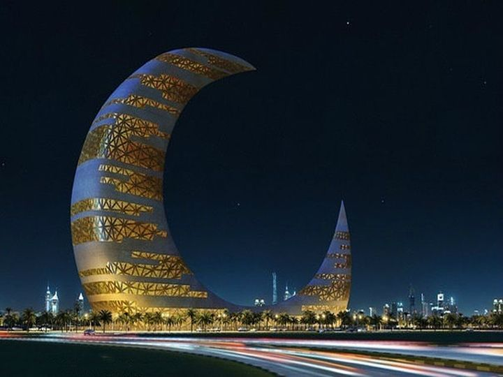 The Crescent Moon Tower | Dubai