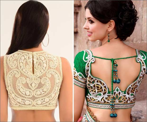 Looking for the last saree blouse back neck designs? Checkout our latest collection of the saree blouse back neck designs. Click here to read more..