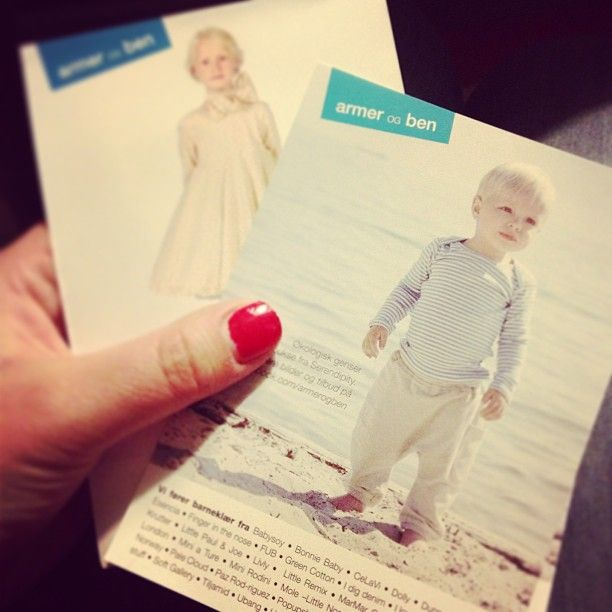 Armer og ben  – Barneklær på nett