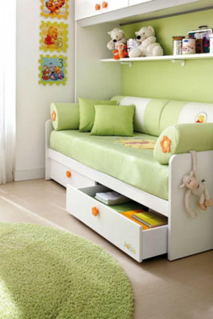 Composiciones para cuarto de beb s winnie the pooh y camas for Muebles transformables