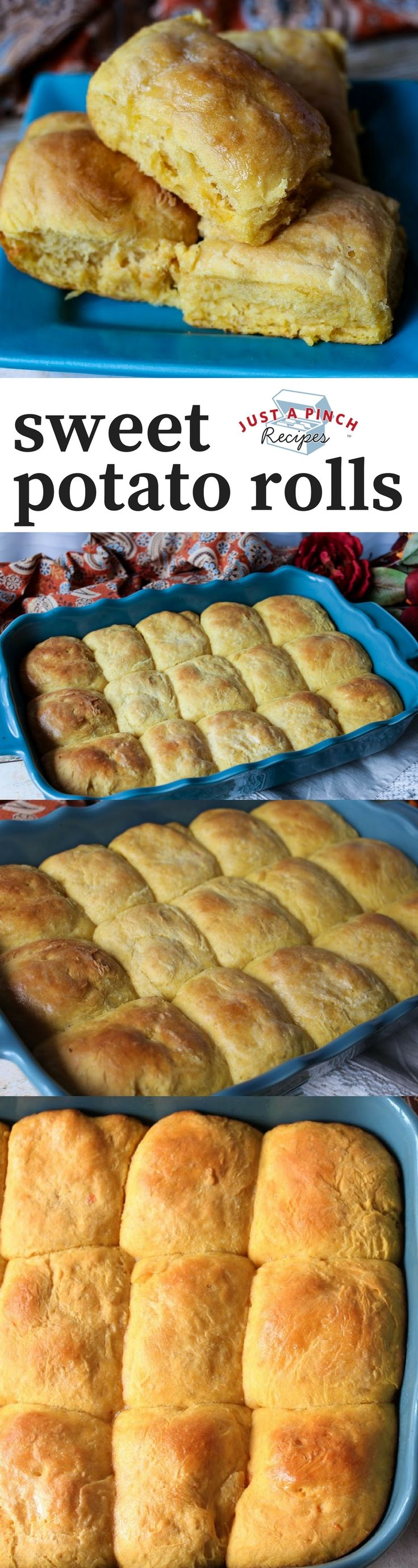 sweet potato dinner rolls recipe that's easy and delicious!