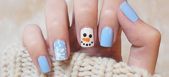 15 χειμωνιάτικα σχέδια για νύχια που πρέπει να δείτε!