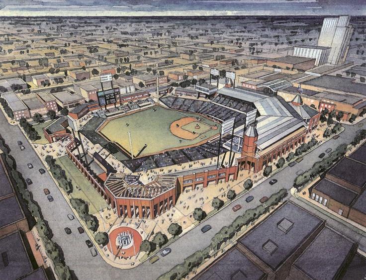 Uptown Mlb Stadium Charlotte Baseball Pinterest Mlb