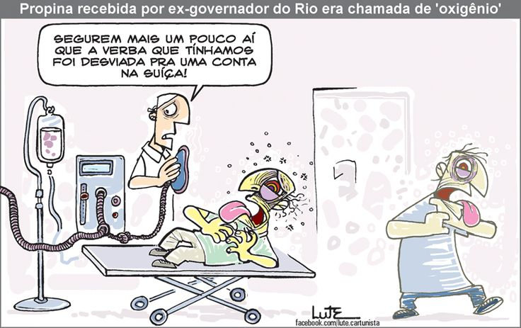 Charge do Lute sobre a prisão de Sérgio Cabral (18/11/2016). #Charge #Rio #RJ #RioDeJaneiro #SergioCabral #Cabral #Corrupção #HojeEmDia