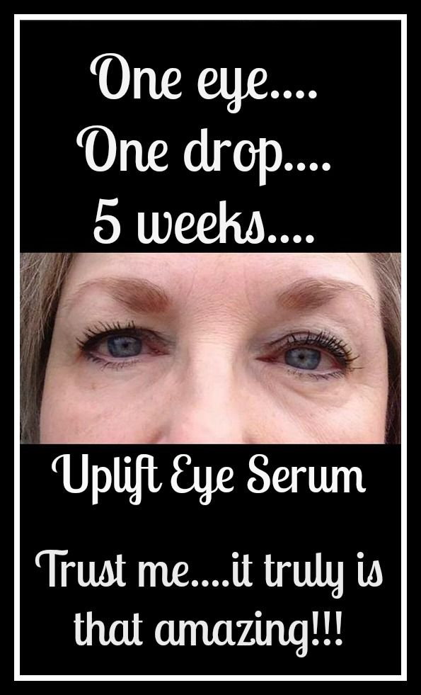 Uplift Eye Serum Formulated to replenish, moisturize, and reduce the appearance of fine lines and wrinkles. Using the dropper, place one to two drops on tips of fingers, then apply gently under and around eyes