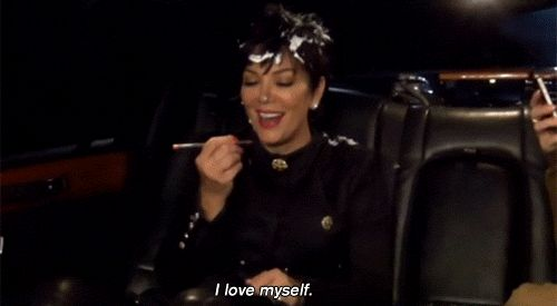 When it's all about you.   17 Essential Kris Jenner GIFs For Your Reaction GIF Folder