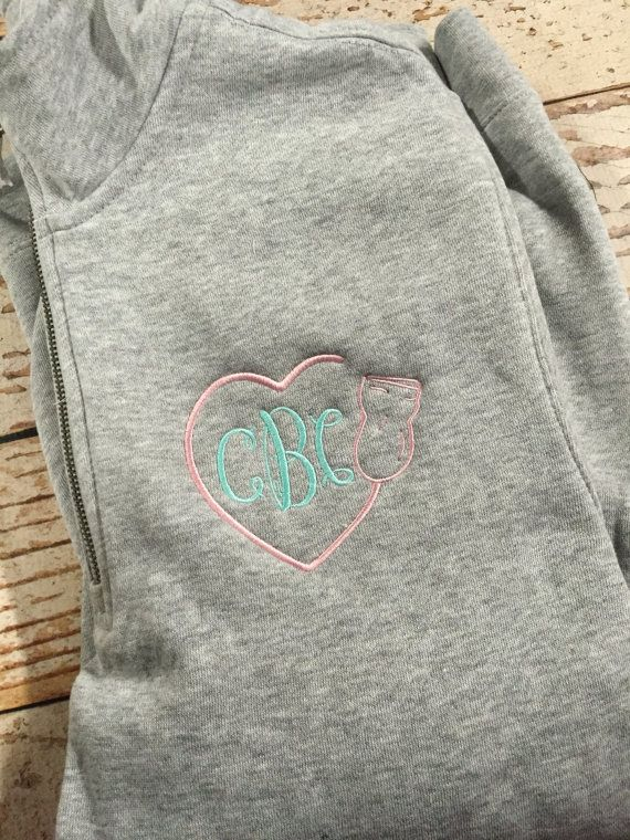 Monogrammed sonographer shirt ultrasound tech gift by skkilby21