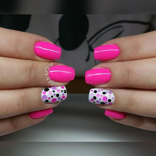 #paznokcie #nails #manicure #gelnails #mintyclaw #nailac @nailacuv #instanails #dotnails #piegi
