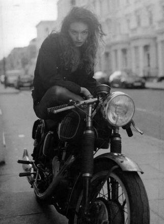 Girl + bikes