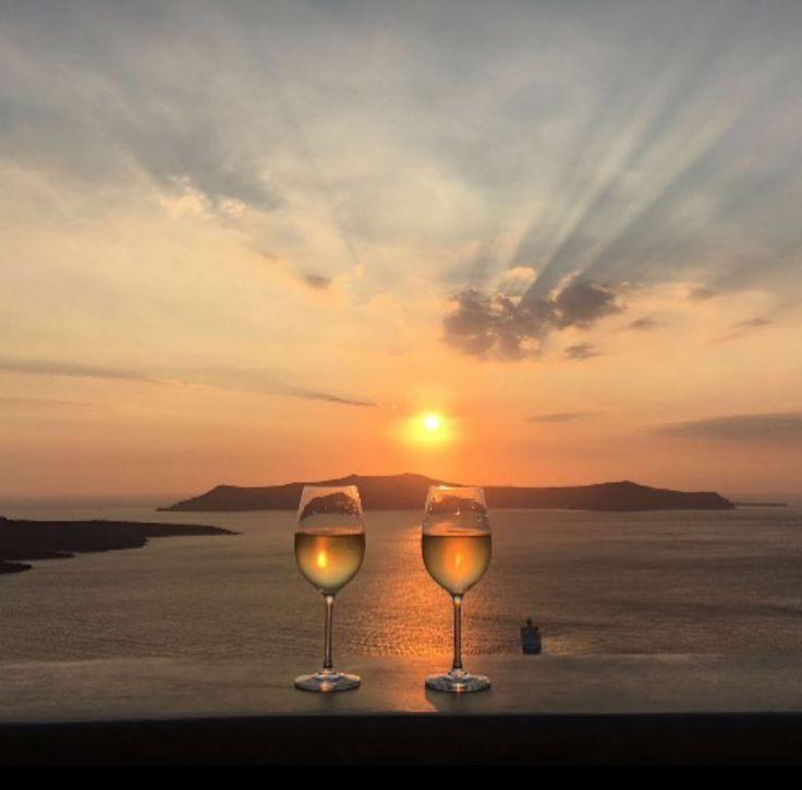 Couple goals.  Andronis Honeymoon Suites in Santorini