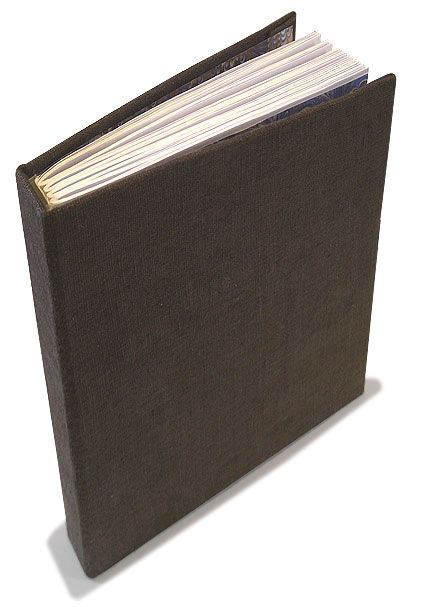 How to build a hard cover book.   I like this idea.  You could make a loved one a book or small travel journal, heck even a scrap book about your number one.