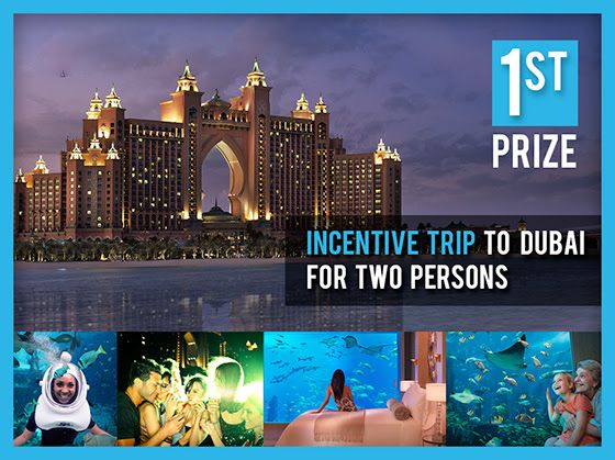 Dubai Incentive Trip Due to the unfortunate fact that a dormant account actually won the first prize in the draw 19th of October 2014,  we have put the Dubai Trip (7th to 10th November 2014) as the first prize into the Weekly Draw 26th of October 2014. We wish you all luck in the upcoming draw. Get your free tombola ticket ! www.SiteTalk.com/FreeTombola