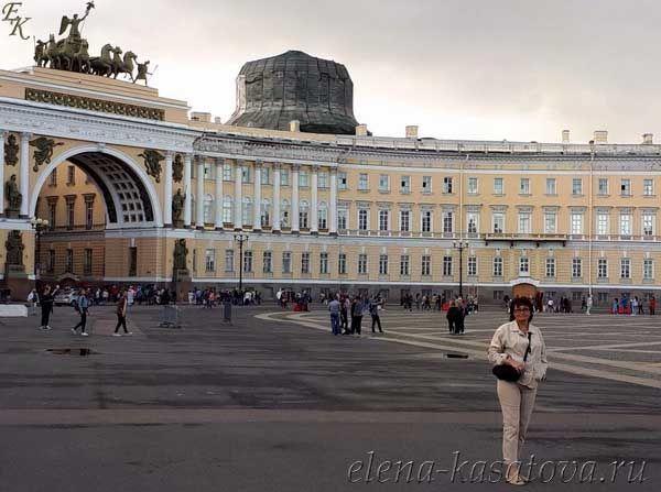 Триумфальная арка Главного штаба на Дворцовой площади