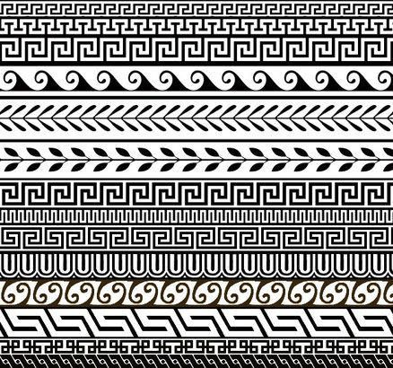 greek patterns for name plates | class 5 Ancient Greece ...