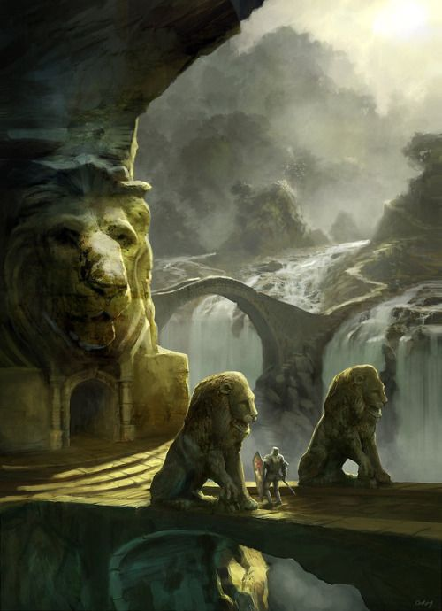The temple of courage by~Gaius31duke