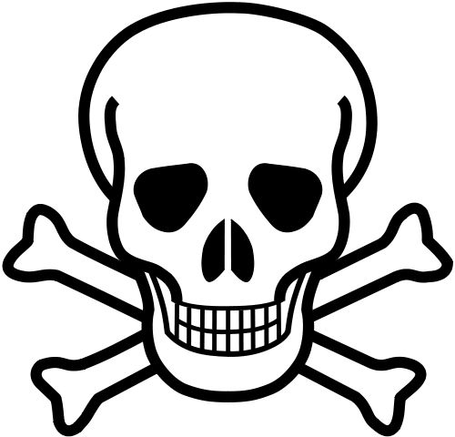 Image of the Skull and crossbones (poison)