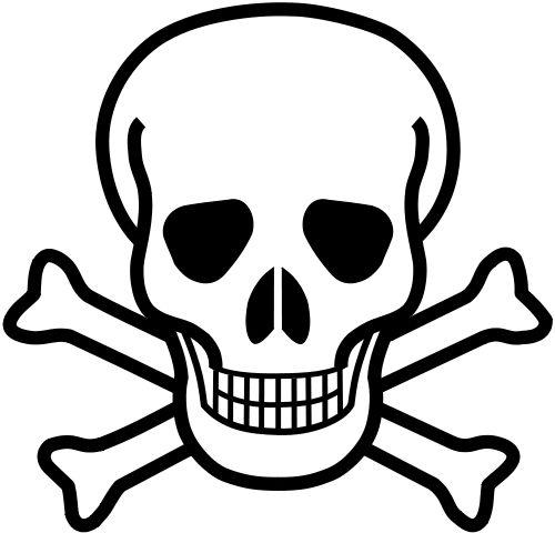 Poison Symbol (skull and crossbones)