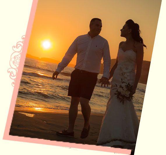 Romantic Wedding at the Beach