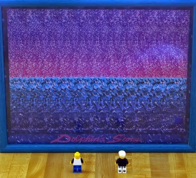 3D Optical Illusions -- Hidden Image -- Magic Eye Stereo ...