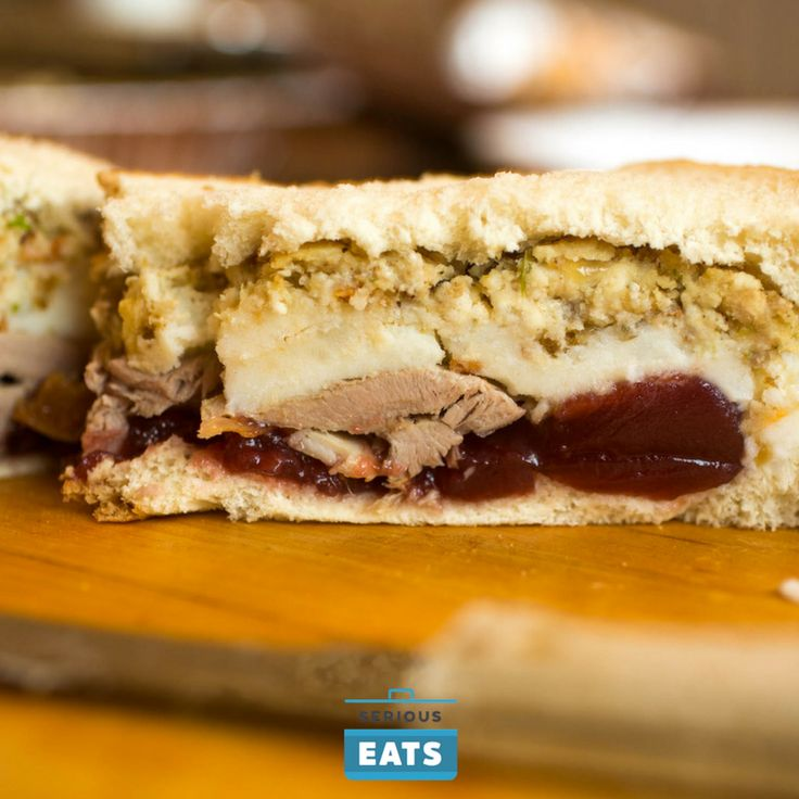 What's in your ultimate Thanksgiving leftover sandwich?