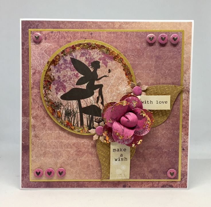 Card created using Fairyland Collection, made by Debbie Moran. www.craftworkcards.com
