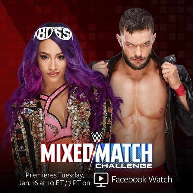 wwe #RAW GM @therealkurtangle's latest pairing is LEGIT! @sashabankswwe and @finnbalor will be teaming up in the #WWEMMC!  2018/01/05 02:24:17