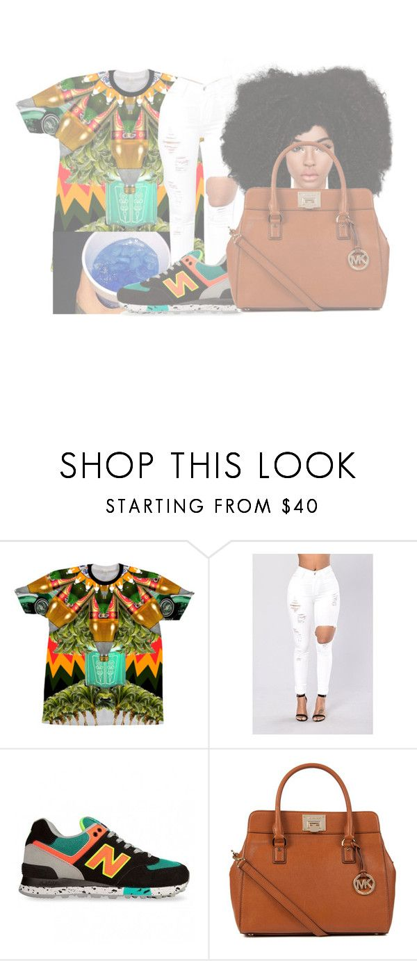 """""""Tory Lanez- Controlla Remix"""" by thatgurlcandii ❤ liked on Polyvore featuring California Love, New Balance and MICHAEL Michael Kors"""