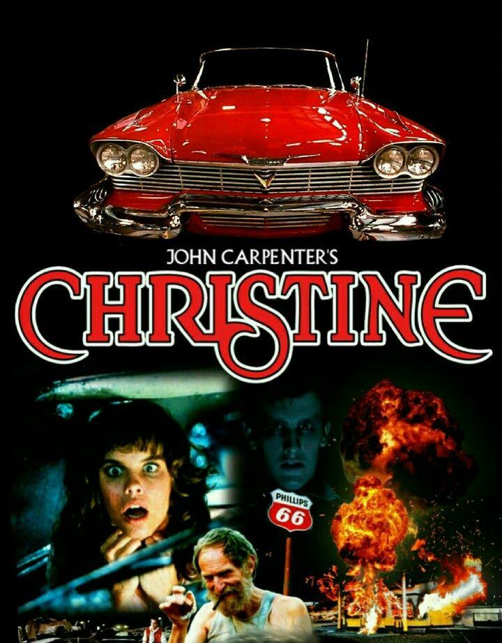 Ha ha, it's Burl!: Burl reviews Christine! (1983) |Christine 1983 Poster Back