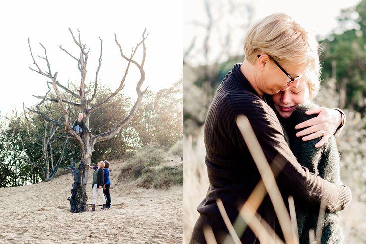 Herfst familie fotoshoot in de Kennemerduinen. Fotografie: Happy Photographer