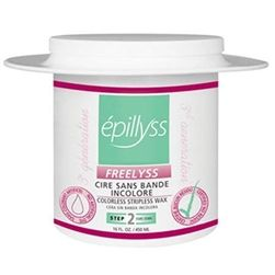 This natural, colorless stripless wax is manufactured specifically to provide a depilation without residue on the skin. Made with a natural resin and does not contain any dye, parabens or artificial fragrance - it meets the ecological requirements now in demand. Bolero container Hard Wax - 16 oz / 476 mL.
