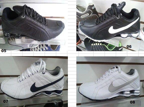 Nike Shox junior - 10 pares.