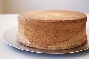 Perfekt tårtbotten med 3-lika metoden.