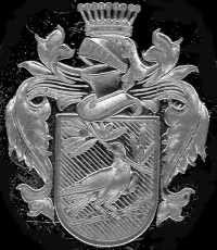 Guaratinguetá. Brasão de Armas do Visconde de ; Francisco de Assis e Oliveira Borges ( esta foto foi retirada de um anel com o Brasão do Vis