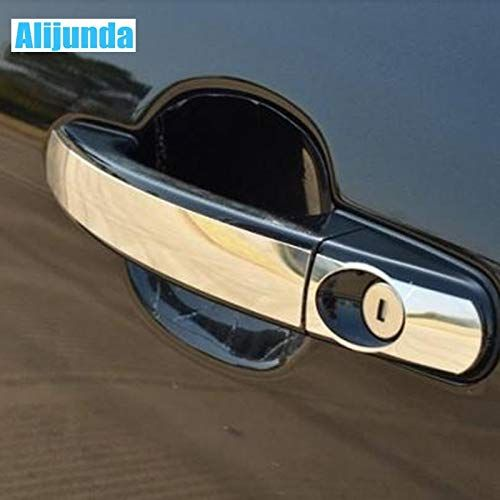 Stainless Steel Door Handle Trim For Decoration Ford Focus 2 MK2 3 MK3 4  MK4 ST RS KUGA 2005 2014