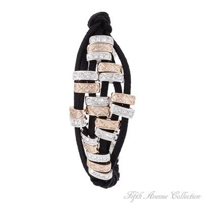 Rhodium Bracelet - Modern Seduction - Australia - Fifth Avenue Collection - Jewellery that changes the way you see fashion