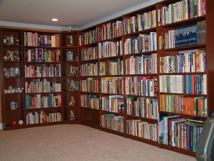 This is my baseball book collection.  I have 1109 different books on baseball.
