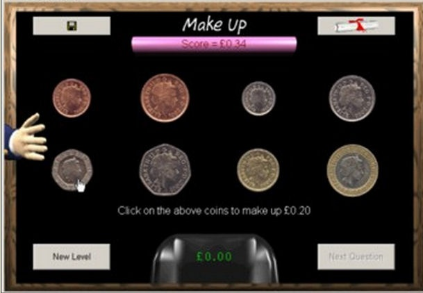 A game to help with learning about money This is a portable Windows application to run from a memory stick. No installation is required.