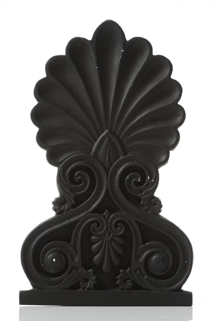 Akrokeramo Wall Medium. Dimension: 26x16x1,5cm Material: Ceramine. Color: Black