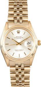 Mens Gold Rolex Date 1503