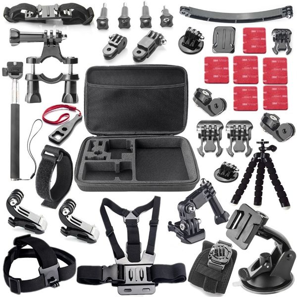 Zubehör Set 3 in 1 für GoPro Hero Black Silver 1//2//3//3+//4//5 Accessories
