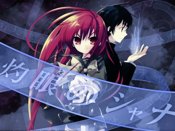Canvas 2 Anime Characters : Best shakugan no shana images on pinterest