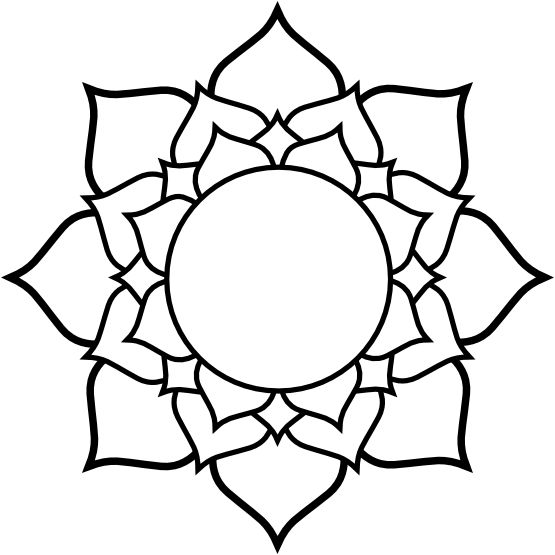 1000 Ideas About Lotus Flower Drawings On Pinterest