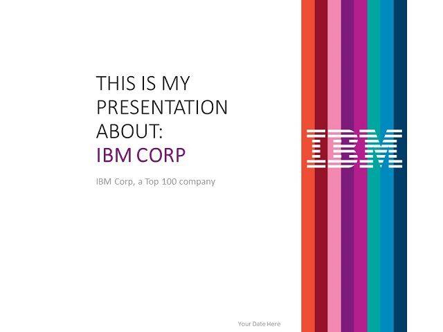 IBM PowerPoint Template
