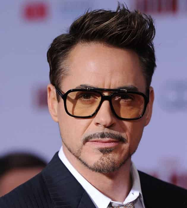 Tony Stark Spiky Hairstyle Hairstyle In 2019 Robert