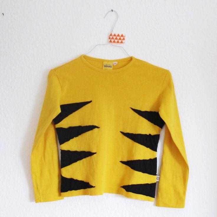 Tiger Kostüm, Tigerkostüm, DIY, Selbermachen, Nähen, Basteln, Kostüme für Kleinkinder, Details