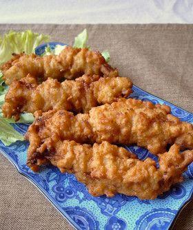 ウチの鉄板!鶏ささみのカリカリから揚げ ©cookpad