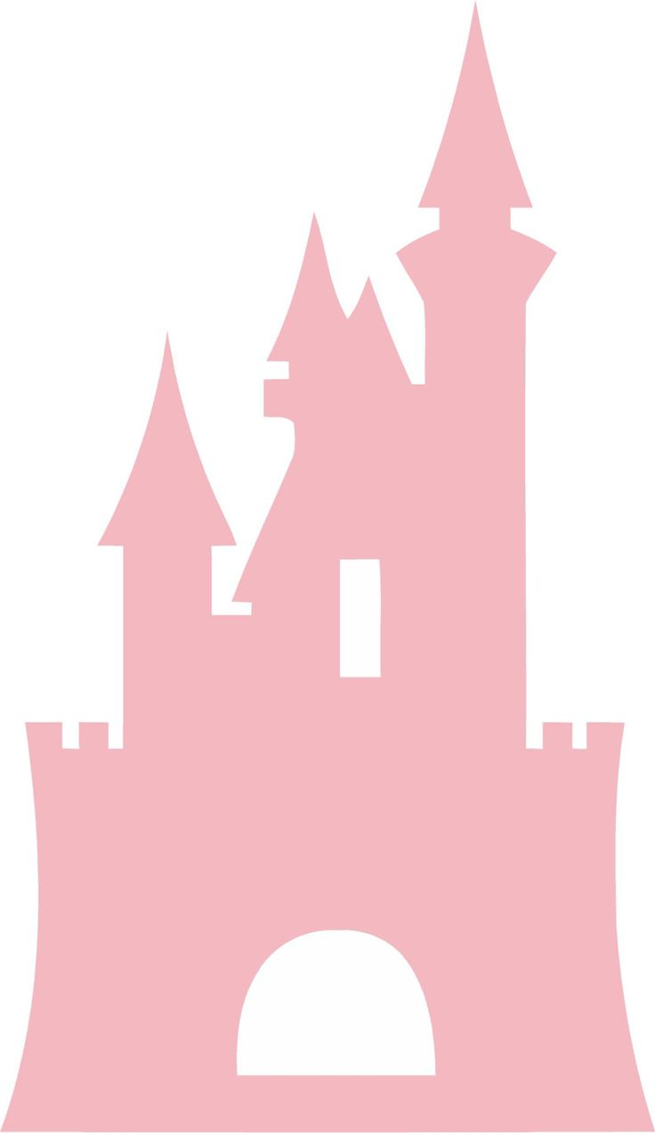 "Disney Castle Princess 22""l x 38""hPink Cinderella Girls Vinyl Wall Decal Sticker Art by ALastingExpression on Etsy"